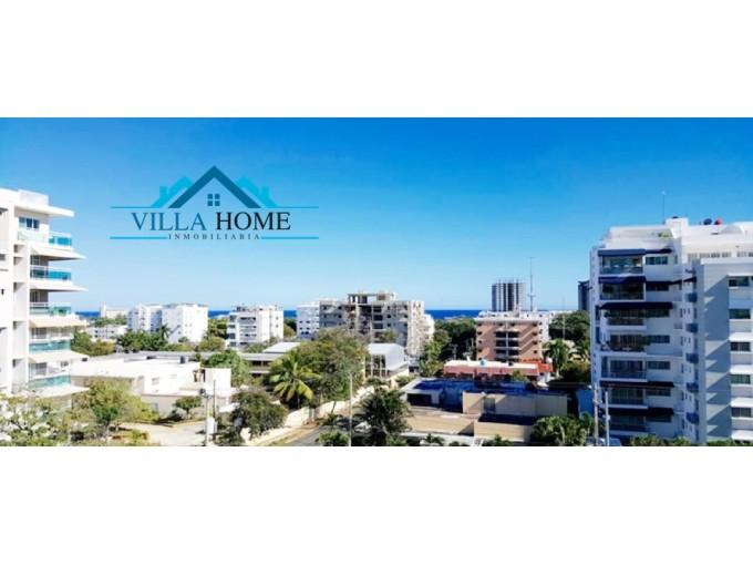 Apartamentos De  2 Hb De 112 MT En Gazcue Con Vista Al Mar