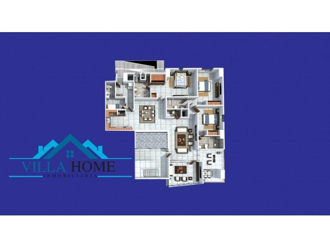 Apartamentos De 1 Hab Con Estudio En La Esperrilla De 90 Mt