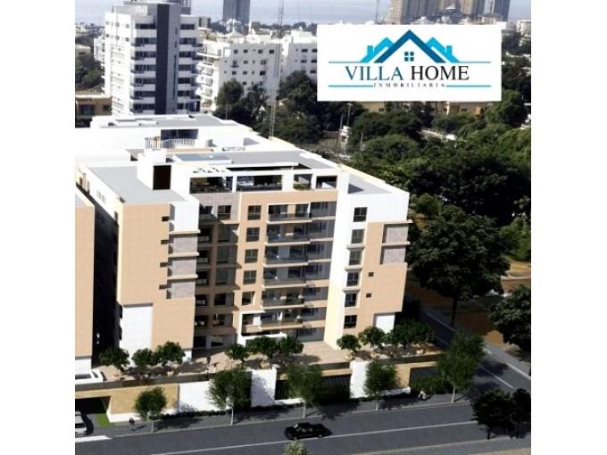 Apartamentos de 123 Habitaciones en Parque Gazcue con Facilidades