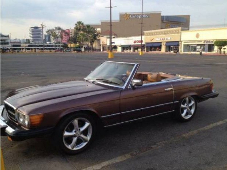 1976 mercedes benz 450sl convertible nacional for Mercedes benz tijuana