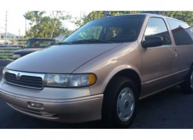 1997 MERCURY VILLAGER GS 3 FILAS
