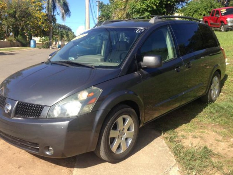 2004 NISSAN QUEST MINI VAN