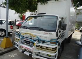 2009 Daihatsu Cama Larga 37 diesel furgon