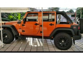 2010 Jeep Wrangler Unlimited Color Mangó