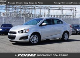 2012 Chevrolet Sonic 4dr Sedan LT 2LT