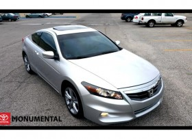 2012 HONDA ACCORD EX-LUXURY COUPE V6