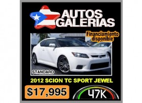 2012 SCION TC -TRAIGA SU OFERTA HOY