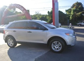 2013 FORD TRUCK EDGE SILVER
