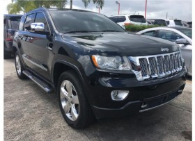 2013 JEEP GRAND CHEROKEE OVERLAND BELLA