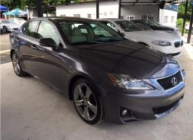2013 Lexus IS250 Sport -Importado