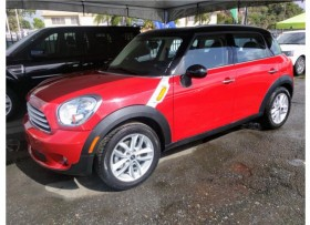 2013 MINI COOPER COUNTRYMAN ROJA Y BLANCO