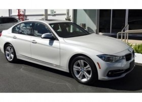 2016 BMW 328i Mineral White Coral Red