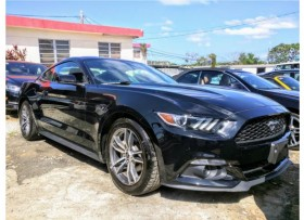 2016 FORD MUSTANG PONY ECOBOOST NEGRO IMPORT