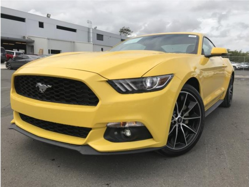 2016 Ford Mustang EcoBoost Premiun Pack