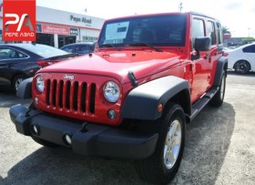 2016 JEEP WRANGLER UNLIMITED ROJO