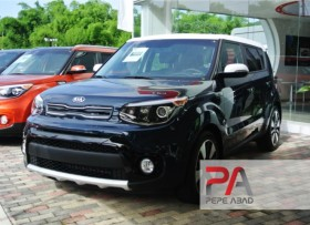 2017 Kia Soul Beat color Azul