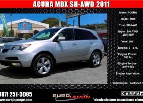 ACURA MDX SH-AWD 2011