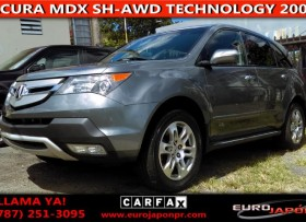 ACURA MDX SH-AWD TECHNOLOGY 3 FILAS 2009