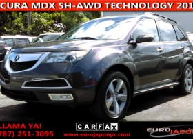 ACURA MDX SH-AWD TECHNOLOGY 3 FILAS 2011