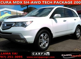 ACURA MDX SH-AWD TECHNOLOGY PACKAGE 2009