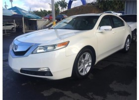 ACURA TL 2009 PIEL COLOR CREMA SUNROOF