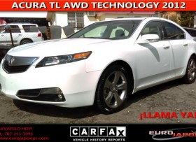 ACURA TL AWD TECHNOLOGY 2012