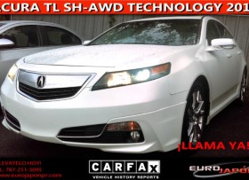 ACURA TL SH-AWD TECHNOLOGY 2012