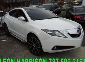 ACURA ZDX ADVANCE TECH ′11 GPSCAMARASUNROOF