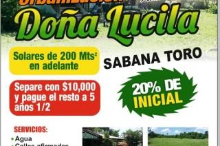 Acogedor Proyecto De Solares San Cristóbal