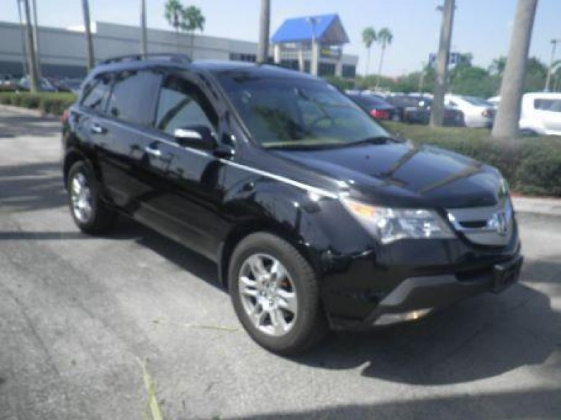acura mdx 2009 en florida lake worth. Black Bedroom Furniture Sets. Home Design Ideas