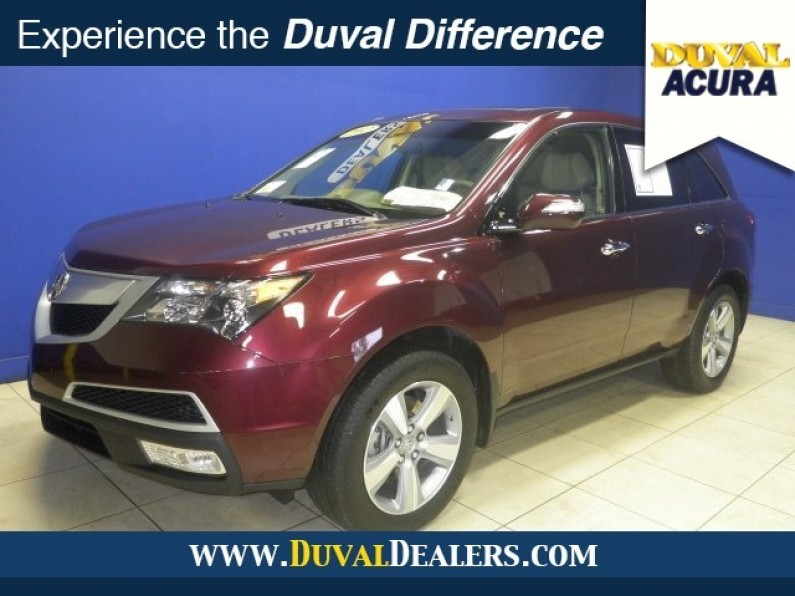 acura mdx 2013 en florida clearwater. Black Bedroom Furniture Sets. Home Design Ideas