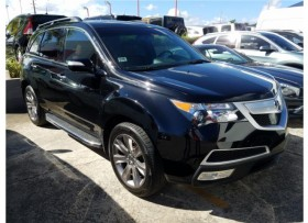 Acura MDX AWD Technology 2012