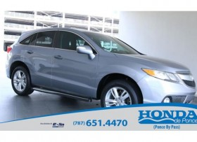Acura RDX Luxury Package 2013