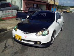 Acura RSX 2002 coupe gris raton