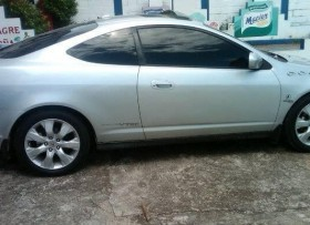 Acura RSX coupe 2002 gris raton