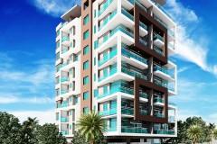 Apartamento de 2 habitaicon de 146 mt en Naco para 2018