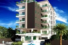 Apartamentos de 3 habitaciones de 123 mt en Bella Vista para 2018