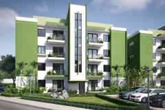 Apartamentos en construccion en Alameda con Fideicomiso