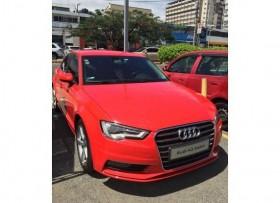 Audi A3 2015 rojo