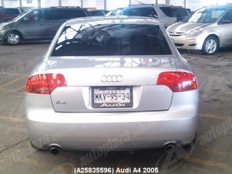 Audi A4 2005 4p Elite Multitronic 20l