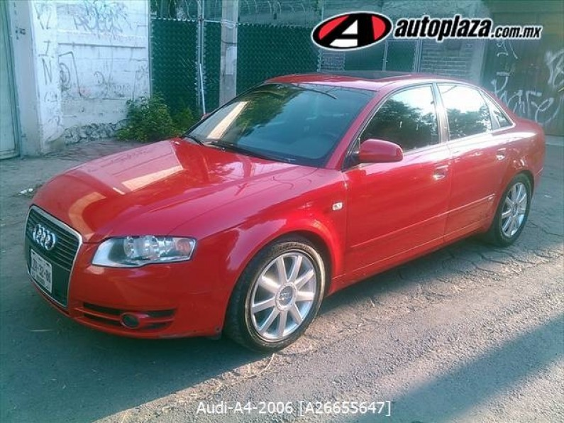 Audi A4 2006 4p S Line Multitronic