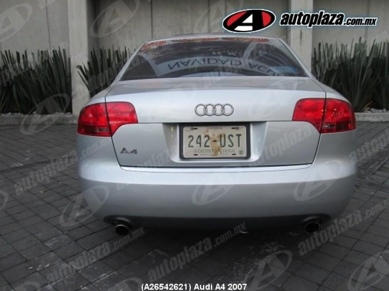 Audi A4 2007 4p Sline 18l Multitronic