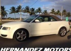 Audi A4 Convertible 18T Financ