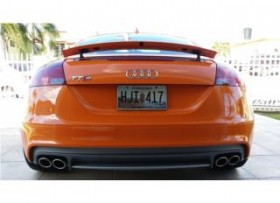 Audi TTS in glutorange