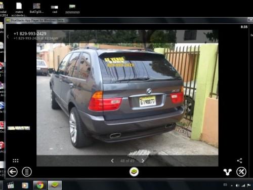 BMW X5 2003 excelentemente bien cuidada