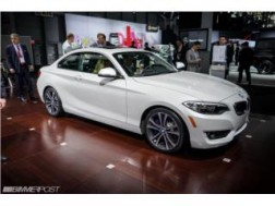 BMW 228i 2014 Blanco interiores Negros