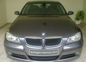 BMW 318i 2008 gris impecable como nuevo