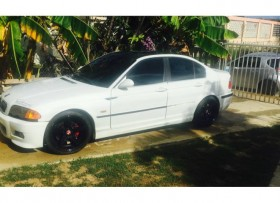 BMW 323i 1999 blanco 4000
