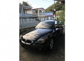 BMW 525 2005 negro
