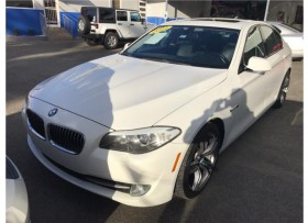 BMW 535I 2011 BLANCO BELLO